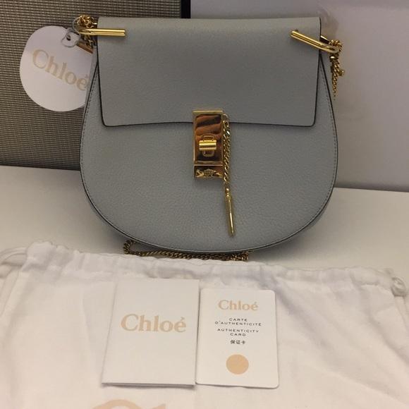 80d8a11d Chloe Small 'Drew' Grey (New w/all tags + dustbag) NWT